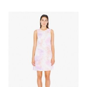 American Appparel tie dye dress
